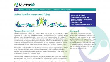 Mpowerlife website screenshot